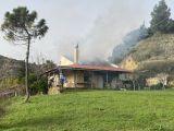 ΝΑΥΠΑΚΤΟΣ: Στις φλόγες μονοκατοικία στον Πλατανίτη