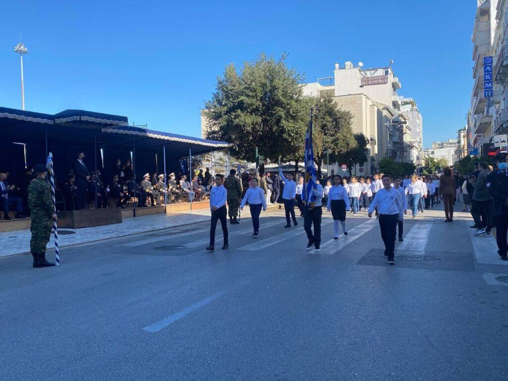 Ολοκληρώθηκε η παρέλαση για την 28η Οκτωβρίου στην Πάτρα